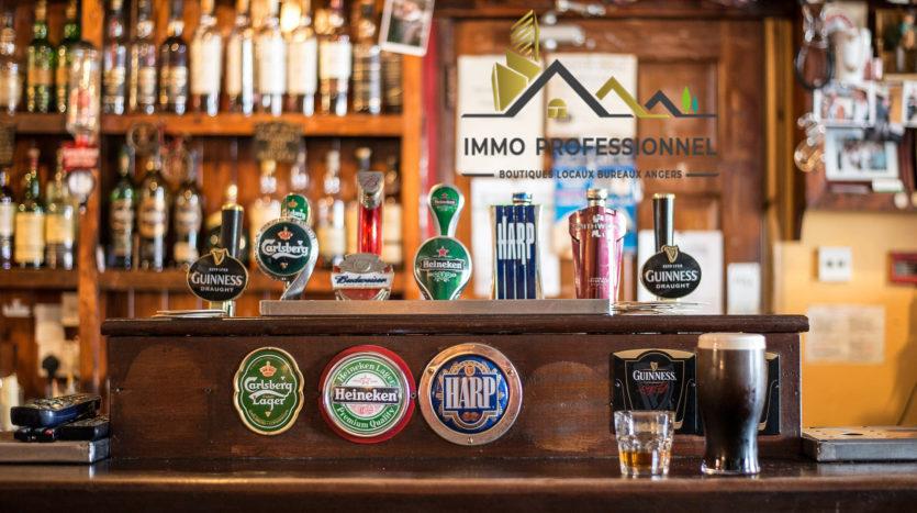 Fonds de commerce bar pmu Angers (immobilier professionnel Angers)